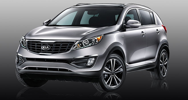 Kia Sportage Car Rental St